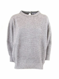 Brunello Cucinelli Wool And Cashmere English Rib Sweater