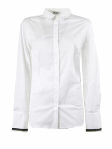 Brunello Cucinelli Stretch Cotton Poplin Shirt
