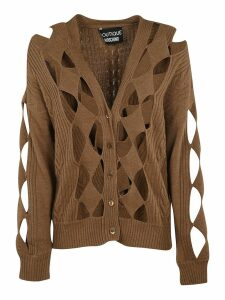 Moschino Cut-out Detail Cardigan