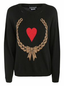 Moschino Heart Intarsia Sweater