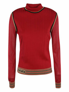 Fendi Silk Ribs Sweater