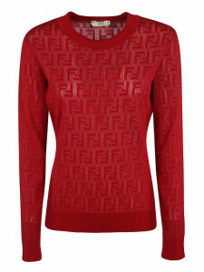 Fendi Ff Cotton Sweater