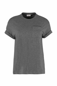 Brunello Cucinelli Cotton T-shirt With Chest Pocket