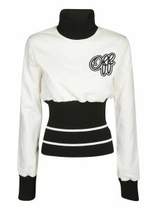 Off-White Cheerleader Ribbed Sweatshirt