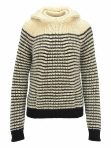 Saint Laurent Striped Wool Jumper