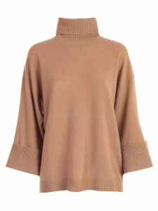 Parosh Sweater Over Turtle Neck