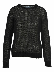 Prada Crew Neck Knit Sweater