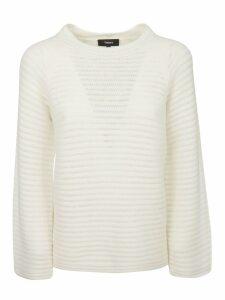 Theory Cash Stripe Sweater