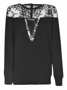 Givenchy Lace Trim Sweater