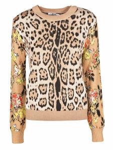 MSGM Leopard Print Sweater