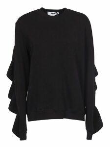 MSGM Ruffle Sweatshirt