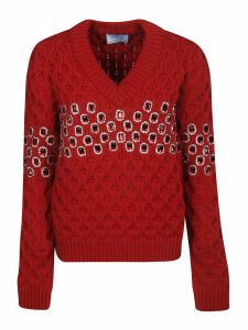 Prada Embellished Sweater