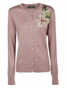 Dolce & Gabbana Flower Embellished Cardigan