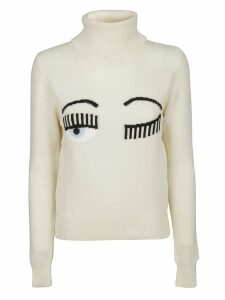 Chiara Ferragni T-neck Flirting Sweater