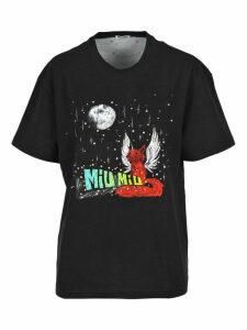 Miu Miu Fantasy Print T-shirt