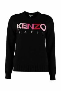 Kenzo Crew-neck Wool Sweater
