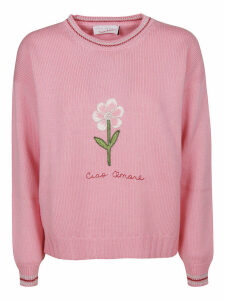 Giada Benincasa Embroidered Sweater