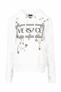Versace Printed Cotton Hoodie