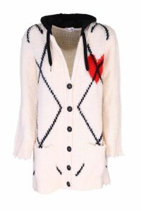 Red Valentino maxi wool cardigan