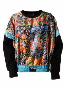 Versace Jeans Couture Floral Print Sweatshirt