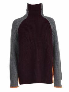 Victoria Victoria Beckham Sweater L/s Over Turtle Neck
