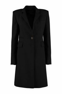 Pinko Smentire Embellished Button Coat