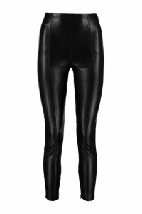 Pinko Gabbione Leather-effect Leggings