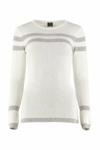 Pinko Benche Crew-neck Wool Sweater