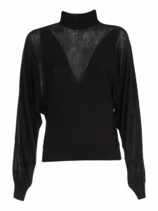 Alberta Ferretti Sweater L/s Turtle Neck Bat Sleeve