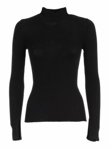 Alberta Ferretti Sweater L/s Turtle Neck W/ribs