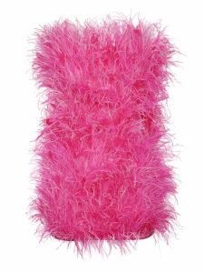 The Attico Fur Detail Top