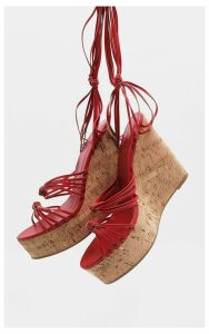 Red Knot High Wedge, Red