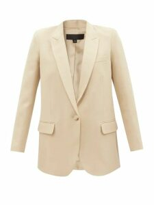 Loewe - Striped High-neck Cotton Sweater - Womens - Navy White
