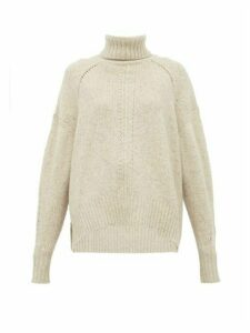 Isabel Marant - Harriet Roll-neck Cashmere Sweater - Womens - Ivory