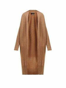 Nili Lotan - Makenna Long Cashmere Cardigan - Womens - Camel