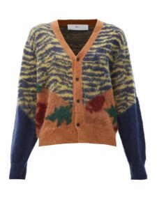 Toga - Animal-print Jacquard Cardigan - Womens - Multi