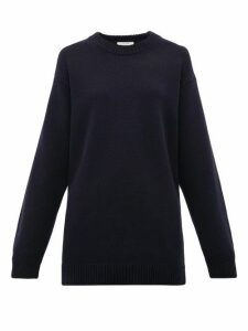 The Row - Vaya Cashmere Sweater - Womens - Navy