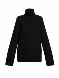 The Row - Vaya Roll Neck Sweater - Womens - Black
