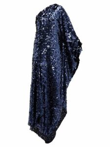 Roland Mouret - Ritts One Shoulder Sequinned Gown - Womens - Navy