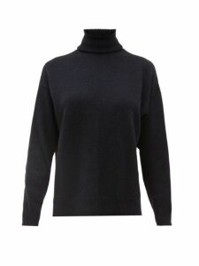 Officine Générale - Alma Roll-neck Cashmere Sweater - Womens - Navy