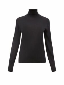 Officine Générale - Ninon Roll-neck Wool-blend Sweater - Womens - Navy