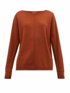 Max Mara - Masque Sweater - Womens - Dark Brown