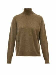 Officine Générale - Alma Cashmere Roll Neck Sweater - Womens - Green