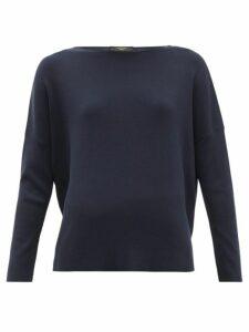 Weekend Max Mara - Ginseng Sweater - Womens - Navy