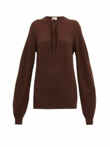 Khaite - Emma Cashmere-blend Sweater - Womens - Brown