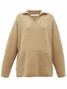 Extreme Cashmere - No. 101 Jules Stretch-cashmere Sweater - Womens - Camel