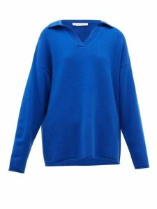 Extreme Cashmere - No.101 Jules Stretch-cashmere Sweater - Womens - Blue