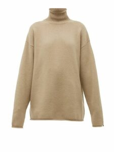 Extreme Cashmere - No. 100 Hippy Stretch-cashmere Sweater - Womens - Beige