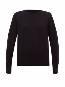 Maison Margiela - Round Neck Cashmere Sweater - Womens - Navy