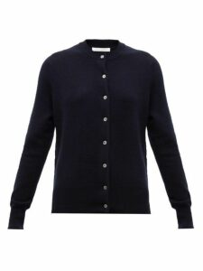 Extreme Cashmere - No. 99 Little Stretch-cashmere Cardigan - Womens - Navy